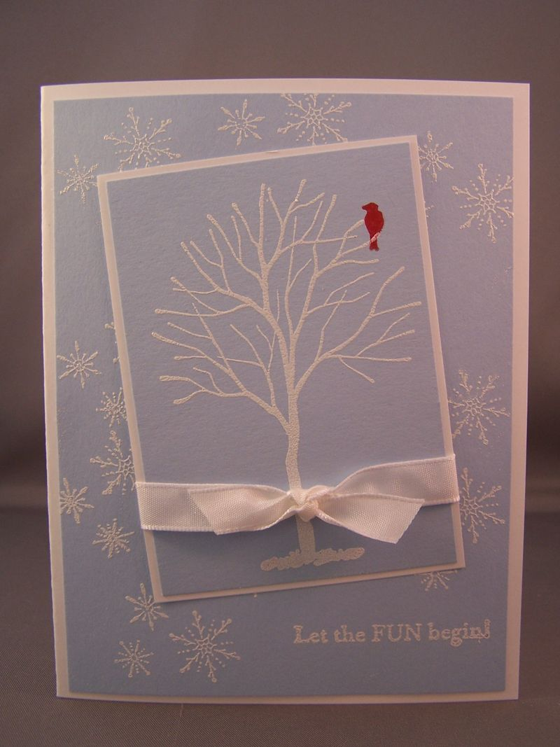 Serene Snowflakes & Branch Out Card