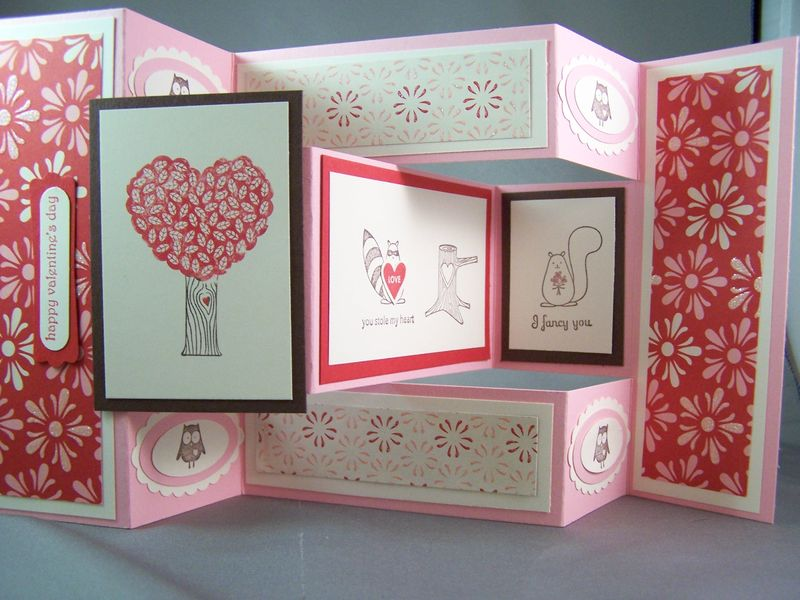 Love Bandit TriFold Shutter Card Stamping Country – Tri Fold Card