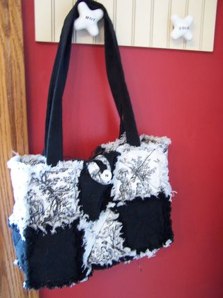 Quilted Rag Purse-Big Shot