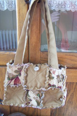 Quilted Rag Purse