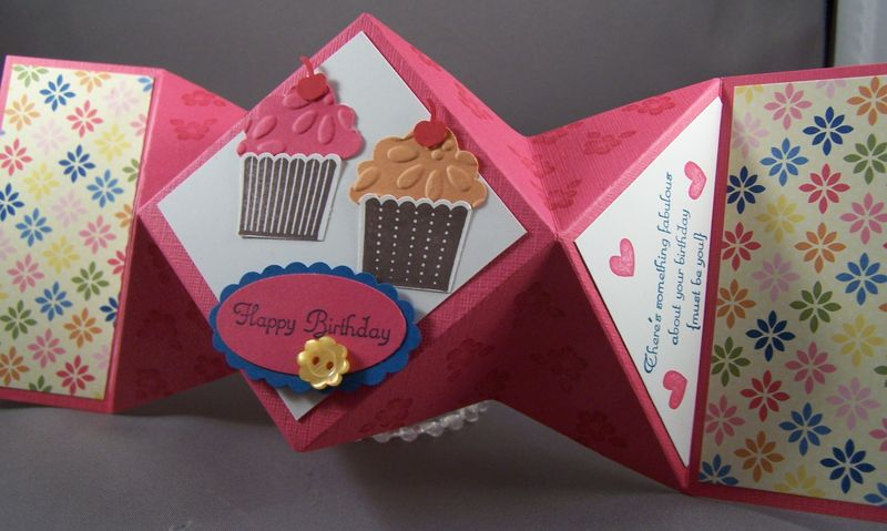 Create a Cupcake Fancy Fold
