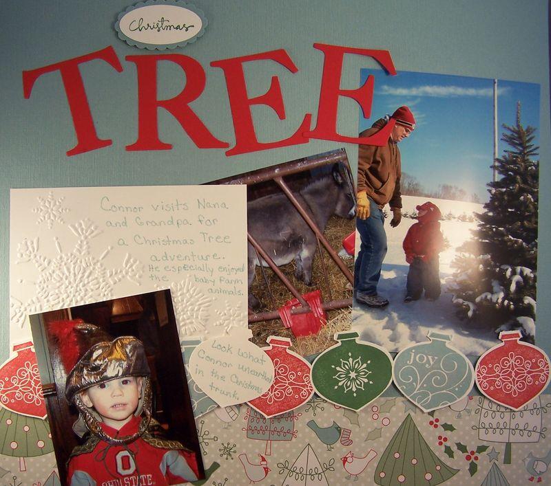 Christmas Tree Scrapbook