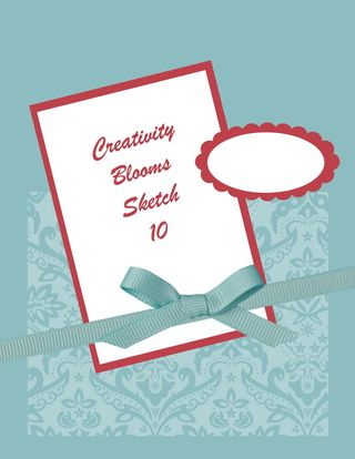 Creativity Blooms Sketch 10-001