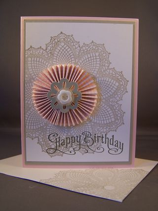 Hello, Doily Stamp Set