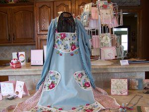 Springtime Vintage Fabric