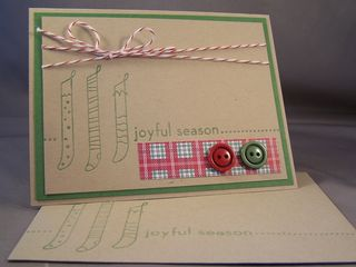 Joyful Season Letterpress Plate