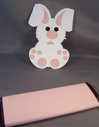 Punch Art Bunny Candy Wrapper