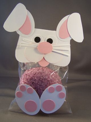 Punch Art Bunny Cupcake