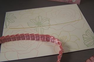 Fifth Avenue Floral Envelope