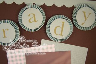 Up, Up & Away Scrapbook