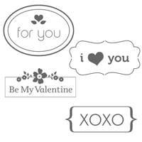 My Little Valentine Stamp Set