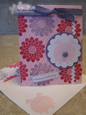 Button Buddies Birthday Card