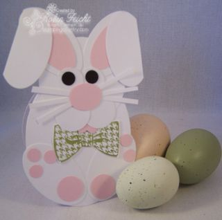 Easter Bunny Paper Craft for Kids