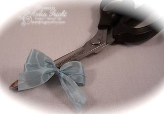 Craft Scissors & Double Bow