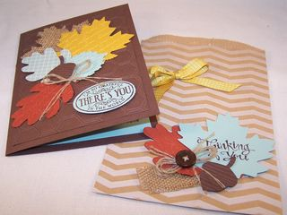 Autumn Card & Bag