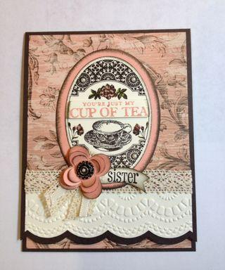 Stampin Up Card Idea By Guest Designer Carol Dennison Stamping