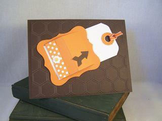 Peek-a-Boo slider Card