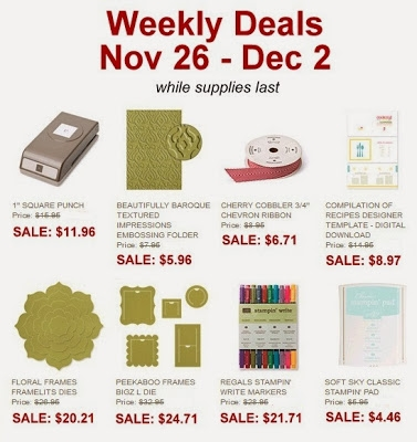 Stampin Up WeeklyDeals_Nov26_US