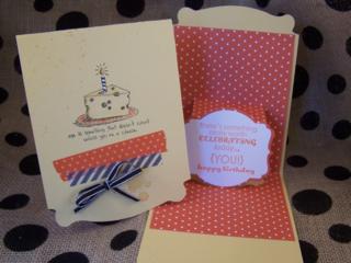 Giggle Greeting Pop Up Birthday Card