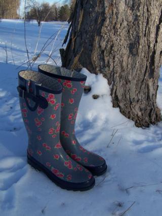 Robin's Designer Rain Boots
