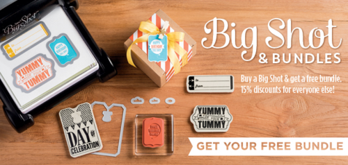 Big Shot Deal from Stampin' Up!