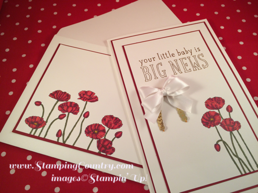 Custom Big News Baby Card