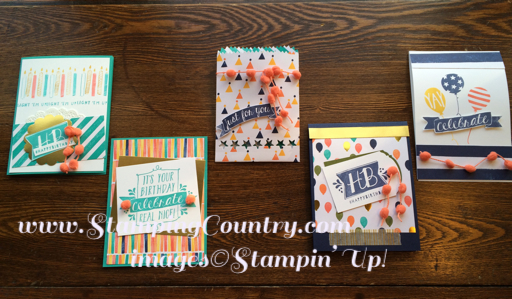 Flashy Birthday Bash Stamp-a-Stack
