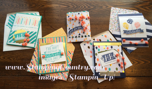 Birthday Bash Stamp-a-Stack