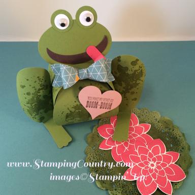 Paper Frog Curvy Keepsake Box