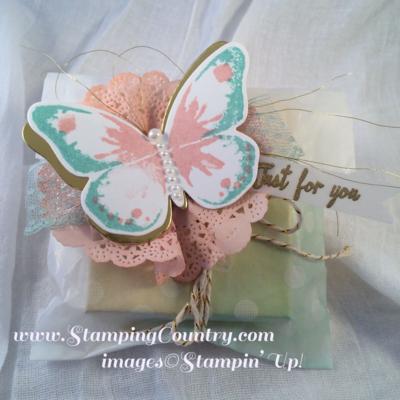 Watercolor Wings Gift Packaging