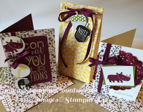 Into the Woods Stampin' Up!