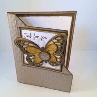 Corner Fold Card by Carol Dennison