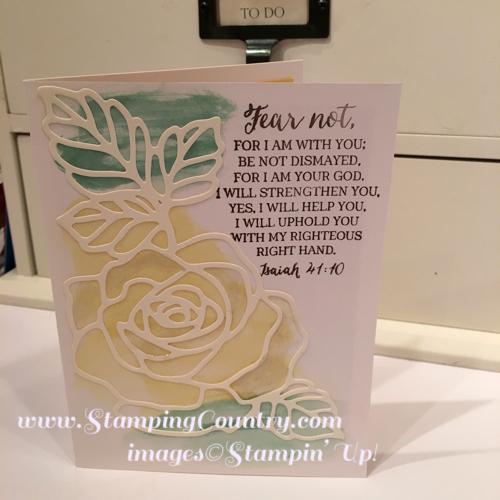 Rose Wonder Card