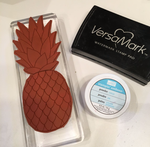 Pineapple Stampin' Up!