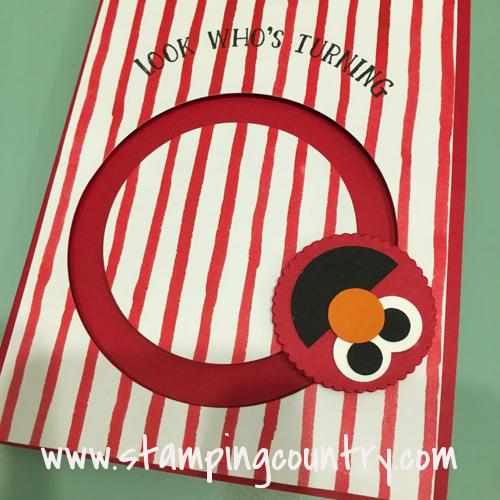 Elmo Spinner Card