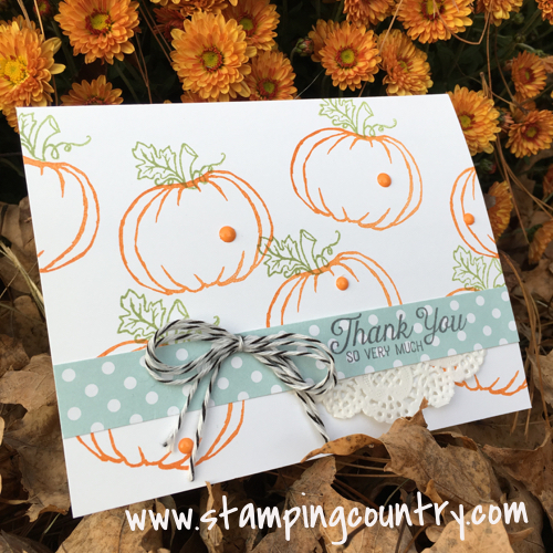 Jar of Haunts Stampin' Up!