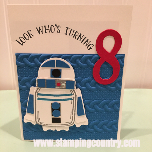 Star Wars R2-D2 Birthday Card