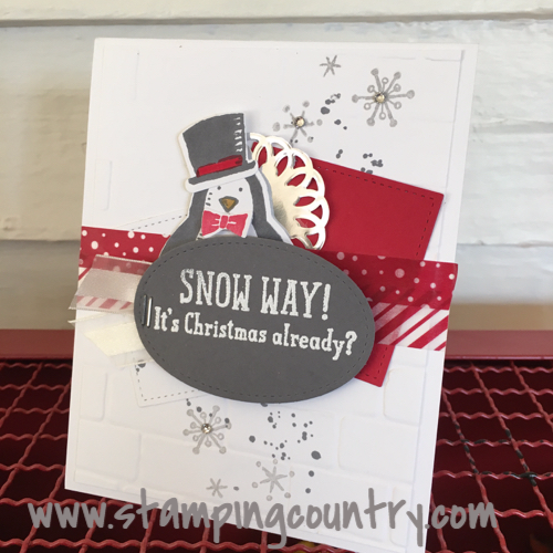 Snow Place Christmas Card