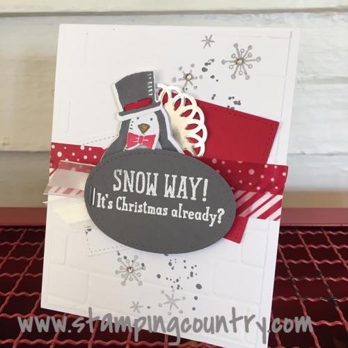 Snow Place Christmas Card