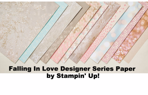 Falling in Love Designer Paper