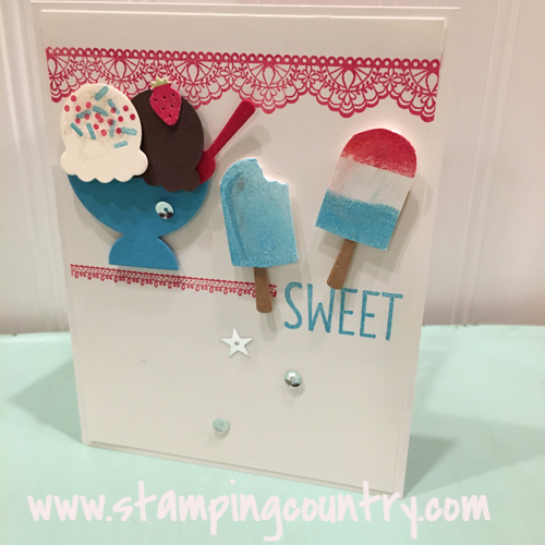 Cool Treats Stampin' Up!
