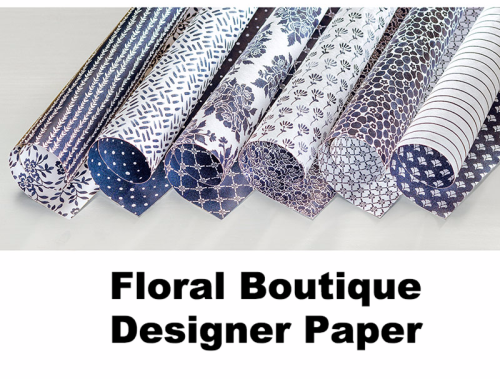 Floral Boutique Designer Paper