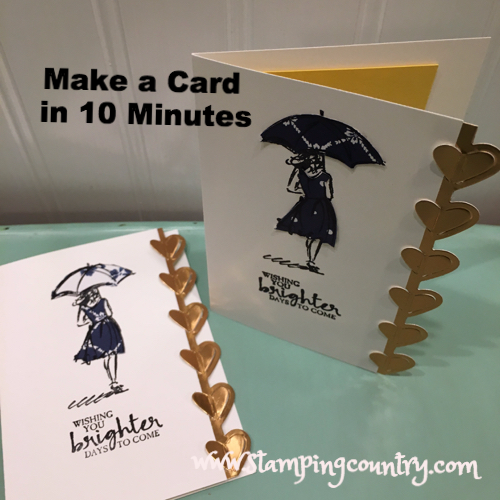 Make a Card in 10 Minutes