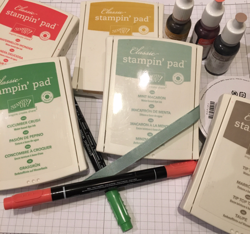 Stampin' Up! 2015-2017 In Colors