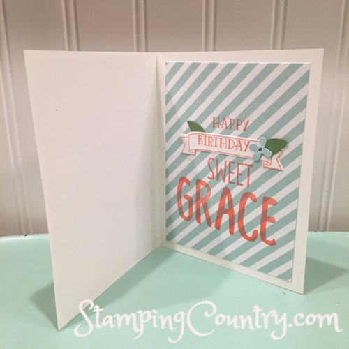 Handmade Personalized Birthday Card