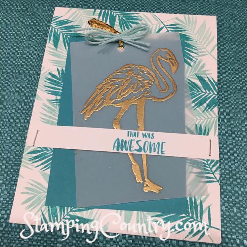 Fabulous Flamingo Stampin' Up!