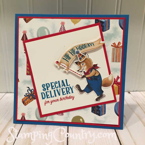 Birthday Delivery Stampin' Up!