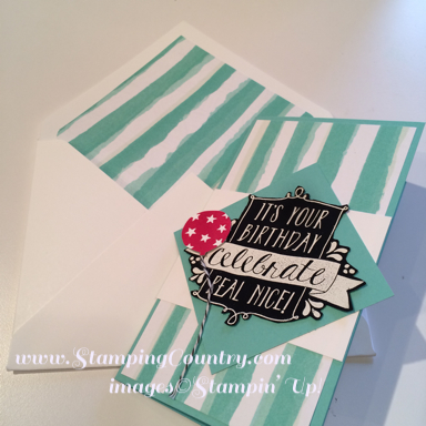 Balloon Bash Stampin' Up!
