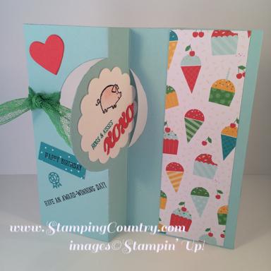 Barnyard Babies Flip Card