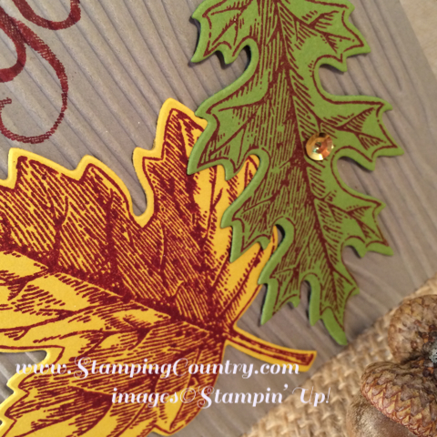 Stampin' Up! Vintage Leaves